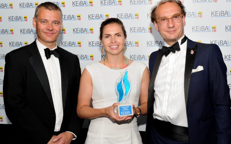 Construction Project of the Year - KEiBA 2015
