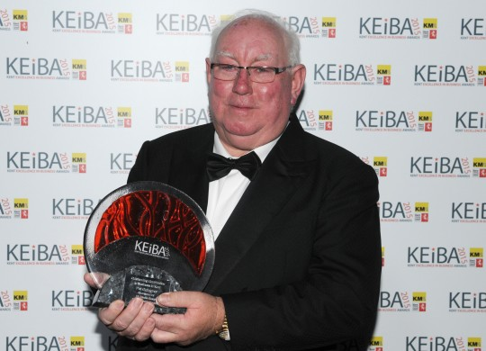 Pat Gallagher wins Outstanding Contribution award - KEiBA