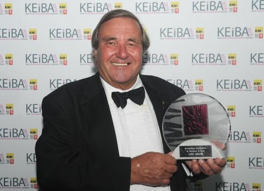 Clive Emson wins Outstanding award - KEiBA